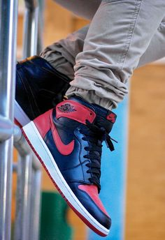 Nike Air Jordan 1 'Bred' #sneakers