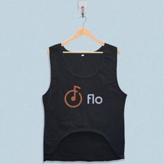 Women's Crop Tank - Flo Music Logo Design with low price!Style Deals - We're always on the hunt for elevated basics, like this sleeveless top. It has a boxy cropped fit that will complement high-waisted skinny jeans and pencil skirts pe... Crop Tank, Tank Tops, Logo Design, Music Logo, Summer Design, Skinny Jeans, Pencil Skirts, Fit, Style