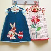 Easter Bunny, Petal Reversible Dress - via @Craftsy