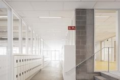 Stéphane Beel Architects gave a new life to school in Belgium
