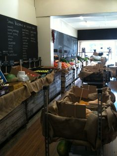 My shop - full of produce, Chelsea Green Grocer - Victoria, Australia.