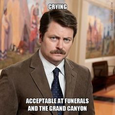 20 Brilliant Ron Swanson QuotesYou can find Ron swanson and more on our Brilliant Ron Swanson Quotes Parks And Rec Ron, Parks And Rec Quotes, Parks And Recreation, Best Friend Poems, Dumb Quotes, Good Life Quotes, Movie Quotes, Wisdom Quotes, Ron Swanson Meme