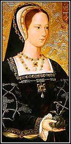 Princess Mary Tudor, the youngest surviving daughter of Henry VII and his Queen Elizabeth of York. Mary was born on March 18, 1496, and grew up to be considered one of the most beautiful princesses in Europe. She was exuberant and energetic like her brother Henry. Like him, she loved dancing and parties, and spectacle.