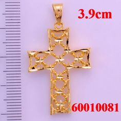 Jesus emmanuel pendantscross pendants18k gold plated pendants wholesale and retail jesus cross pendants aloadofball Choice Image