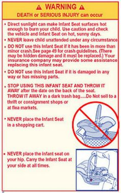 Infant Car Seats Safety And Shopping Carts What You NEED To Know