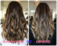 Difference Between Balayage And Ombre Hair Color: Balayage vs Ombre
