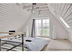 Как отделать мансарду внутри деревянного дома своими руками | Ремонт квартир фото