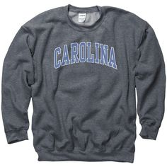 North Carolina Tar Heels Adult Classic Arch Crewneck Sweatshirt ($25) ❤ liked on Polyvore featuring tops, hoodies, sweatshirts, sweaters, crew-neck tops, crew top, crew-neck sweatshirts, crew neck sweatshirts and crew neck top