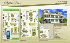 House Plan 25 x 45
