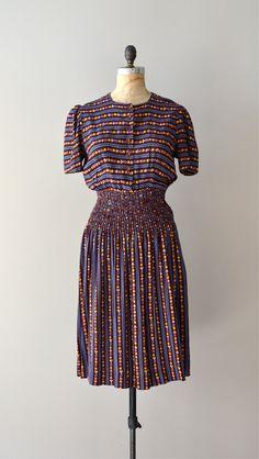 1930's rayon dress