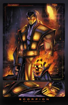 Mortal Kombat Character Illustrations - by Rob Duenas You can also follow him on Tumblr | Twitter | Website This art is part of the gaming m...