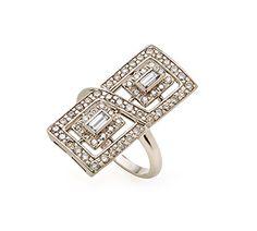 Anel de Ouro Nobre 18K com diamantes brancos e cognac - Coleção Jogo de Cartas Link:http://www.hstern.com.br/joias/p-produto/A1B202419/anel/jogo-de-cartas/anel-de-ouro-nobre-18k-com-diamantes-brancos-e-cognac---colecao-jogo-de-cartas
