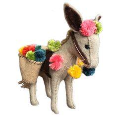 How to make a felt donkey - Selvedge Magazine