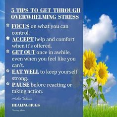 5- stress relieving things