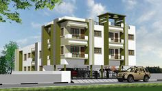 Elegantly Designed Jay Apartments is a Gated community, providing apartments at highly affordable rates with high quality specifications and finishes. To know more about this property, Call@  044 33010744 OR, Visit: http://www.realtycompass.com/property-view-lakshmi-apartment-by-santos-properties-in-chennai-south
