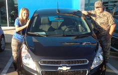 MICHAEL's new 2015 CHEVROLET SPARK! Congratulations and best wishes from Orr Chevrolet and WESTON FROST.