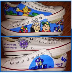 d5db16af97abfd Up Custom Painted Converse Shoes