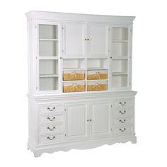 Sofia Large Dresser With Baskets Large Dresser, Little Girl Rooms, China Cabinet, Baskets, Bookcase, Shelves, House Design, Storage, Dining Room