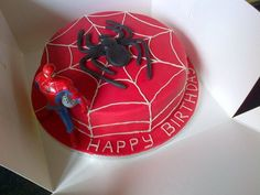 Spiderman Birthday Cake    http://www.seriousmarket.com/