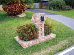 Popular Driveway Landscaping Design For Your Pretty Garden - Decoration Landscape Concept, Landscape Design, Garden Design, Mailbox Landscaping, Garden Landscaping, Landscaping Ideas, Landscaping Software, Design Tropical, Perennial Garden Plans