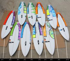Painting your own surfboard is kind of like shaping your own surfboard, it feels good to put bit of yourself into your stick. Lots...
