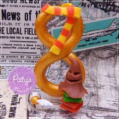 Vela decorada Harry Potter - Biscuit