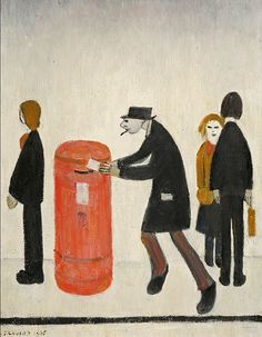 Morphets, the Harrogate Auctioneers, are to offer a major collection of Modern British Art including works by LS Lowry in their Autumn Fine English Artists, British Artists, Naive Art, Figure Painting, New Art, Art Gallery, My Arts, Artsy, Drawings