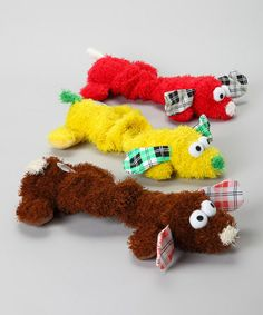 Take a look at this Bungee Puppies Pet Toy Set by American Kennel Club on #zulily today!