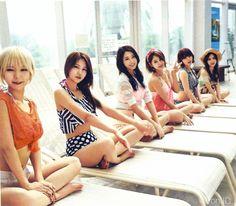 Aoa Hot summer photobook