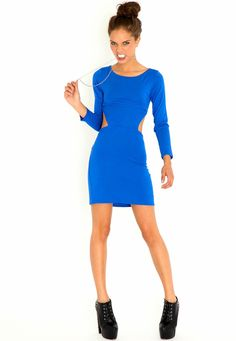 Caterine Cut Out Bodycon Dress