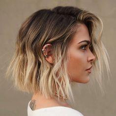 Copper Blonde Hair Color, Cool Blonde Hair, Blonde Hair With Highlights, Brown Blonde Hair, Blonde Balayage, Going Blonde, Blonde Ends, Grown Out Blonde Hair, Blonde Lob Hair