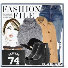 A roll neck knit with camel coat and jeans #fashion #style #inspiration