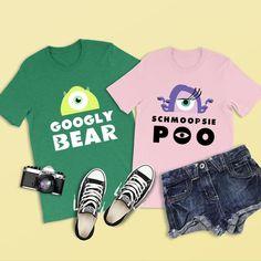 2d3b61c32 Googly Bear Shirt, Monsters Inc Shirt, Disney Shirts, Disney Couple Shirt,  Couples Gift, Disney Shirts for Men, Disney Cruise, Disney World
