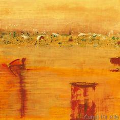 Rose Richter-Armgart - Orange Landscape