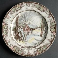 "Johnson Brothers Friendly Village, The (""England 1883"") 2011 Collector Plate, Fine China Dinnerware by Johnson Brothers. $19.99. Johnson Brothers - Johnson Brothers Friendly Village, The (""England 1883"") 2011 Collector Plate - England 1883 Only,Village Scenes,China"