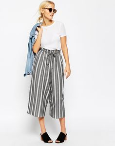 Image 1 ofASOS Stripe Culottes