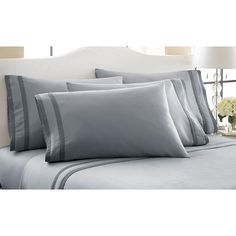 1800 HIGH THREAD COUNT EGYPTIAN COTTON SOCIETY SHEETS 6 PIECE SET