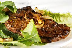 i could live on steak alone - add carmelization and i'm in hog heaven!
