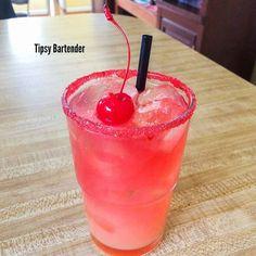 """Sex On Mailbu Beach"" (1 oz. (30ml) Vodka 1 oz. (30ml) Malibu Rum 1/2 oz. (15ml) Peach Schnapps  1 oz. (30ml) Cranberry Juice 2 oz. (60ml) Orange Juice Splash of Grenadine)"