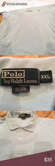 Men's Polo by Ralph Lauren Men's Polo by Ralph Lauren polo shirt- Size XXL- EUC Polo by Ralph Lauren Shirts Polos