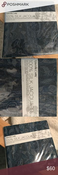 Blue paisley scarf Blue paisley scarf, unopened Accessories Scarves & Wraps
