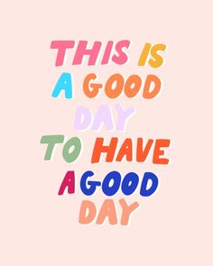 Jan 9, 2020 - Buy This Is A Good Day To Have A Good Day Acrylic Box by rhiannamariechan. Worldwide shipping available at Society6.com. Just one of millions of high quality products available.
