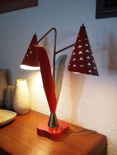 50er Jahre Lampe USA mid-century Vintage Design Rockabilly Leuchte | eBay