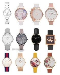 Must have watches by matinapapadopoulou on Polyvore featuring polyvore, fashion, style, MICHAEL Michael Kors, Olivia Burton, Ted Baker, Daniel Wellington, CLUSE, ROSEFIELD and clothing