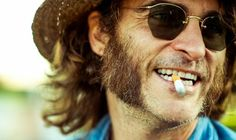 """""""Paul Thomas Anderson's Latest Enigma,"""" a Mediander post featuring """"Inherent Vice,"""" Joaquin Phoenix, """"The Big Lebowski"""" and more. Joaquin Phoenix, Kent Jones, Film Class, Thomas Anderson, Wes Anderson, Jena Malone, Owen Wilson, Sideburns, Movies"""