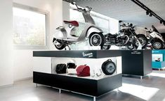 Vespa, Moto Guzzi, Toddler Bed, Wheels, Furniture, Home Decor, Branding, Space, Wasp