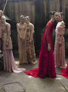 Valentino Haute Couture by Deborah Turbeville / Vogue Italia September 2012