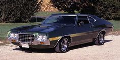 1972 Ford Gran Torino... Can't believe my grandma had a car just like this....