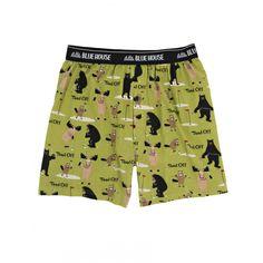 Hatley Men s Boxers TEED OFF Novelty Underwear Dad Golf