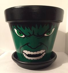 The Incredible Hulk Flower Pot